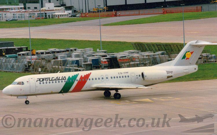 CS-TPF, Fokker F100, Portugalia - mancavgeek | ello