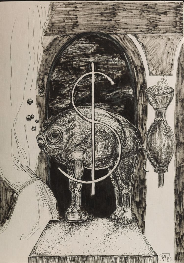 Drawing: Marker Paper. Life pai - lenismoragdova | ello