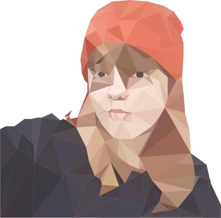 Poly | - Illustrator, poly, portrait - catrod | ello