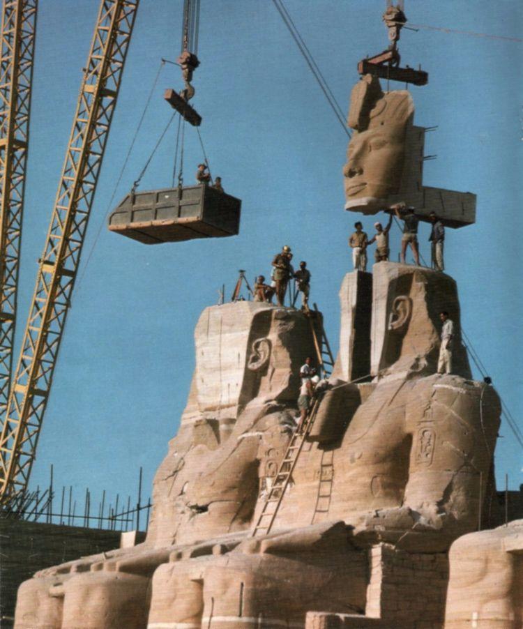 relocation Abu Simbel temples - jdavid_1903 | ello