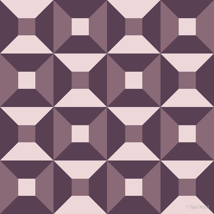 Geometric Pattern: Square Check - red_wolf   ello
