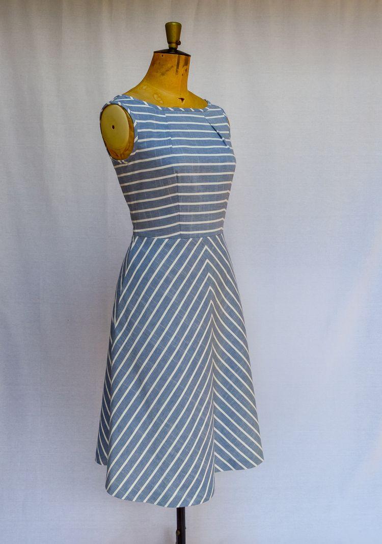 Sew Barcelona PDF dress pattern - mavenpatterns | ello