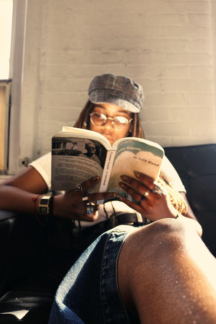 Black Girl Reading | Brooklyn 2 - strangebirdproductions | ello