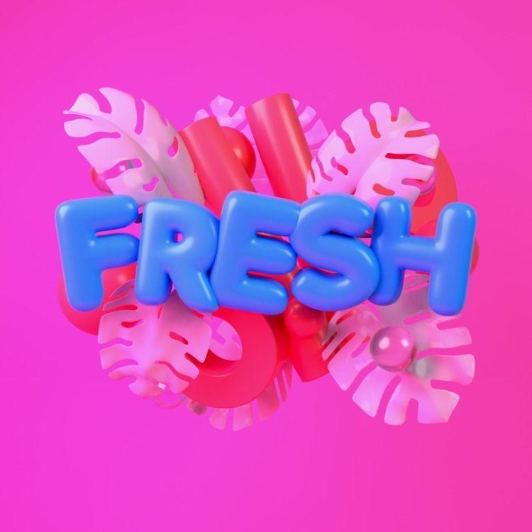 089 FRESH - AbstractShiz, cinema4d - hashmukh | ello