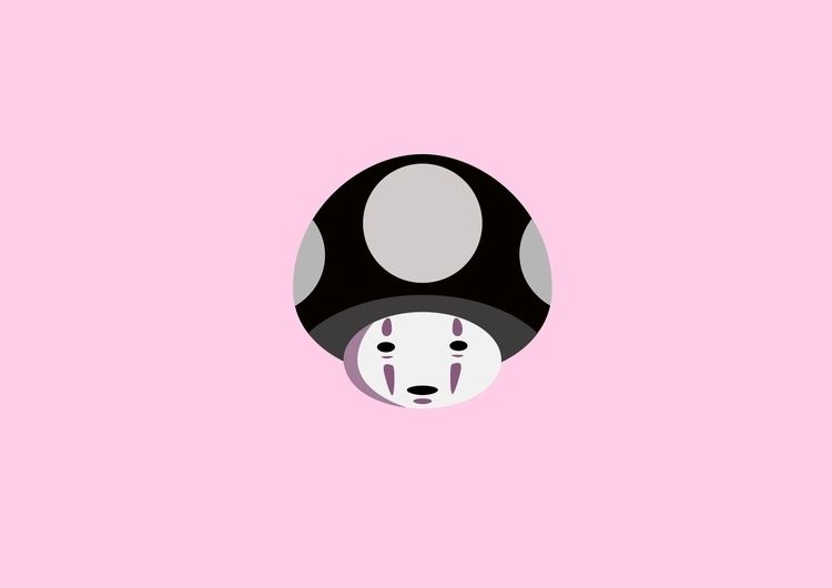 kaonashi   spirited - noface, spiritedaway - chihipso   ello