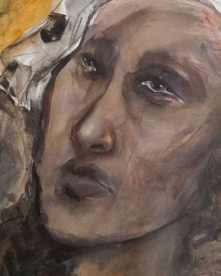 Lady Painting Sarafina Collura - sarafina_collura   ello