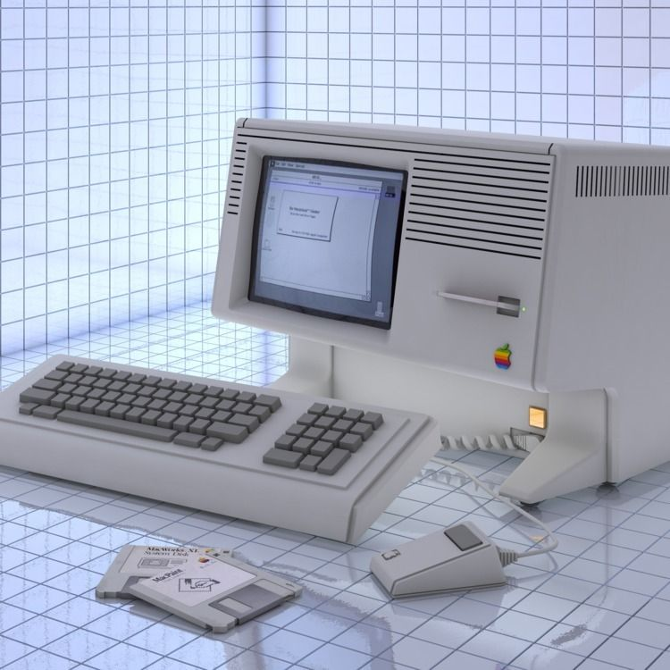 Macintosh XL - Apple, Lisa, C4D - vjaimy | ello