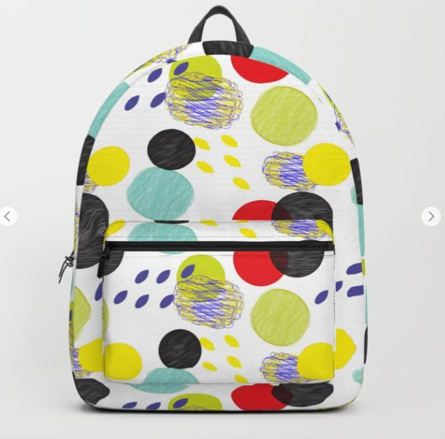 Dots party colorful bubble patt - sagaciousdesign | ello