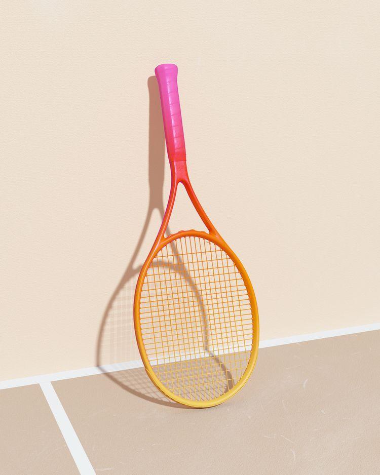 TENNIS Racket Model: Instagradi - molistudio | ello