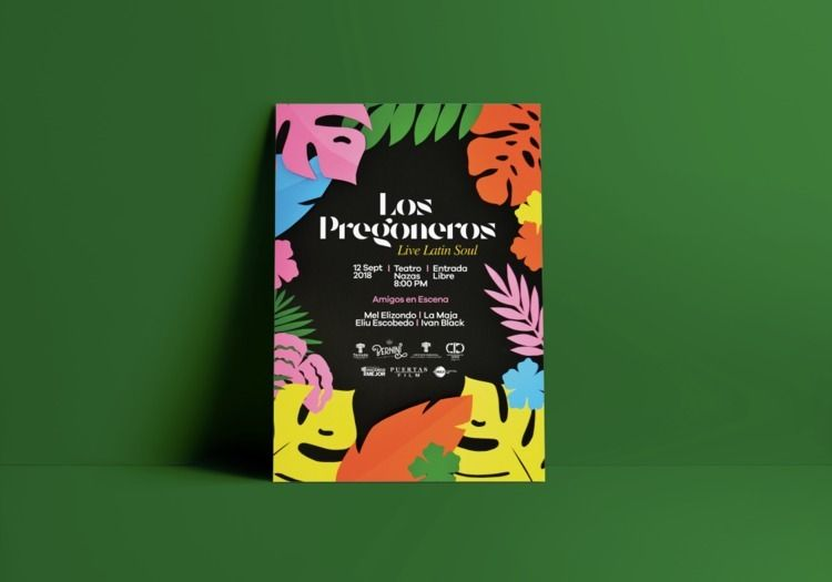 Poster design los.pregoneros co - safosone | ello