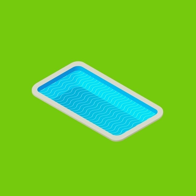 huge tiny pool. Affinity Design - rosvectors | ello