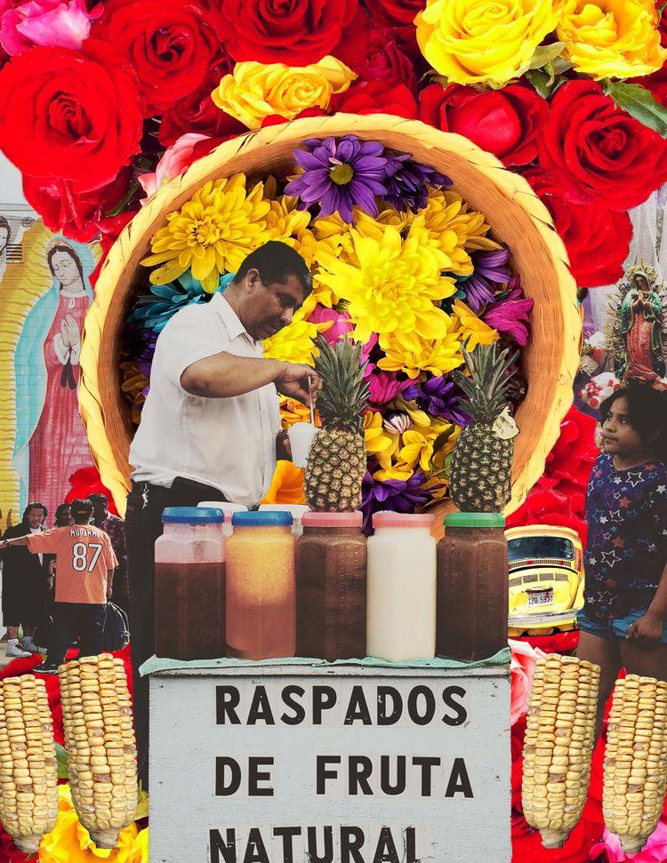 El Barrio Vive Digital Collage - rebelbetty | ello