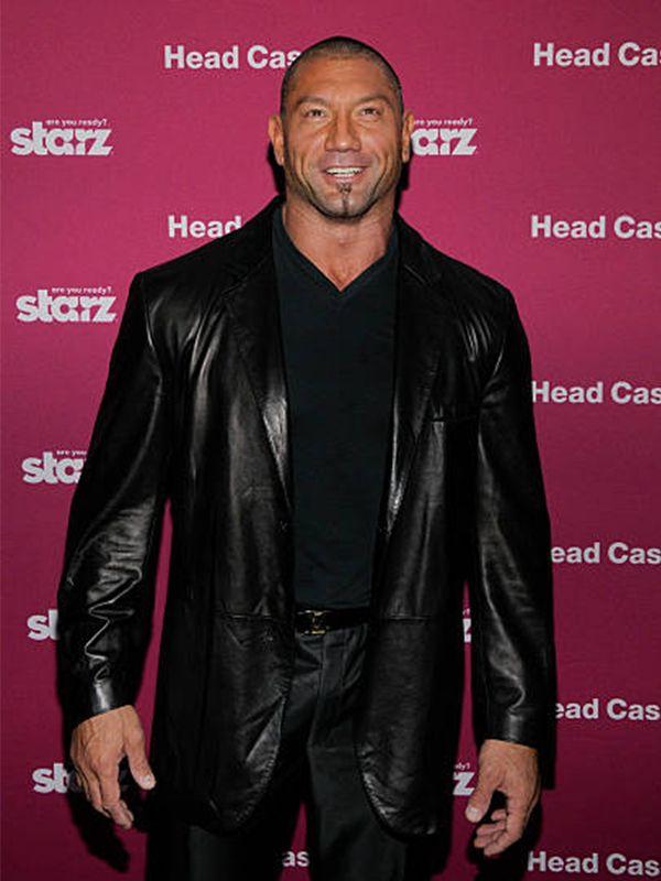Dave Bautista WWE Leather Coat  - samishly   ello