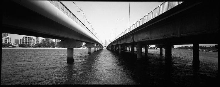 Bridges - Fomapan100, film, mediumformat - michaelfinder | ello