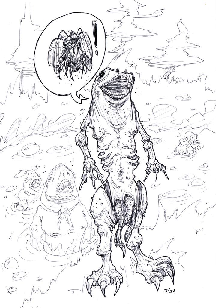 Daily swamp people gross - ballpoint - jju | ello