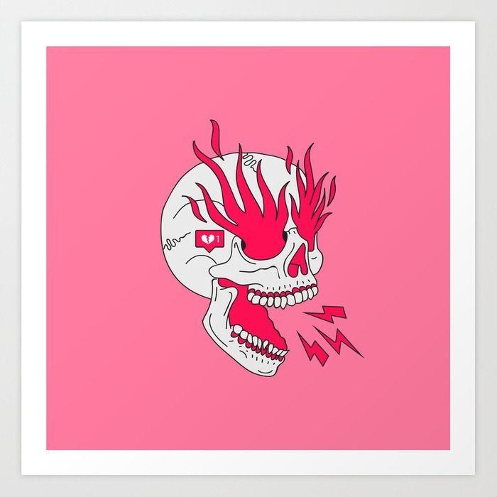 Skull Girl Classic Tattoo - Art - lostanaw | ello