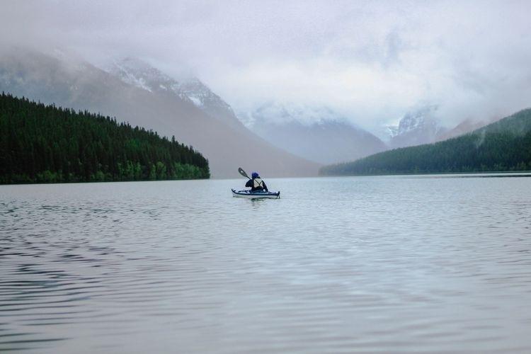 Heaven Bowman Lake, Montana pri - racheldashae | ello