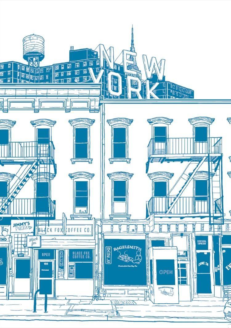 Project NYC exhibition, work pr - justblack | ello