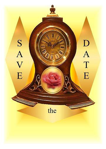 Antique clock Save Date - mrmartonline   ello