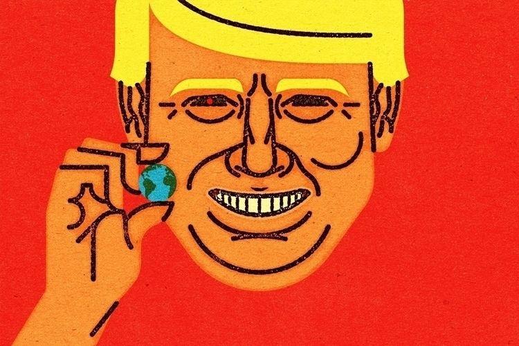 Donald Trump, Destroyer Alexei  - alexeivella | ello
