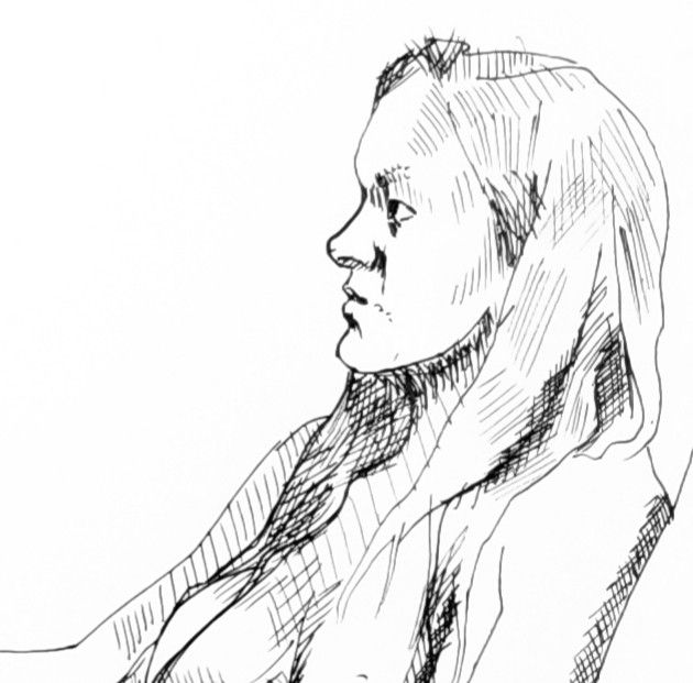 Direct ink life drawing 30 minu - grasshorse | ello