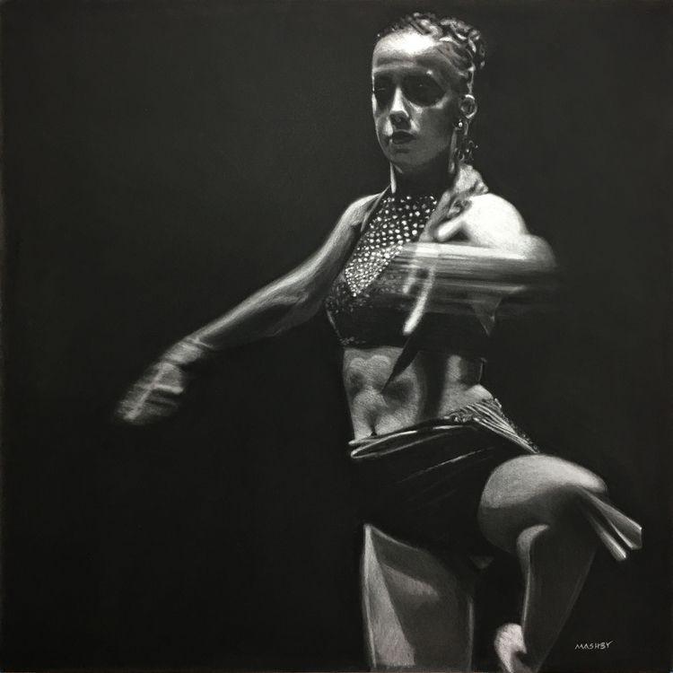 'Pirouette en dehors' 16 Pastel - micheleashby | ello