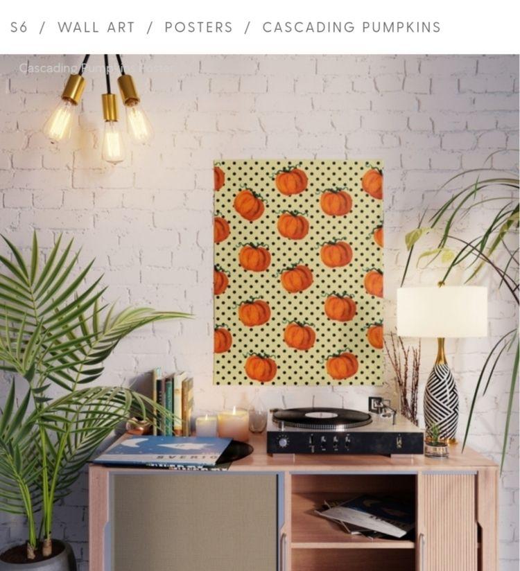 pumpkin prints :relaxed:️ - pumpkins - ladybaigstudio | ello