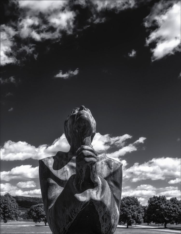 St. Francis, Sunday prayer  - monochrome - docdenny | ello