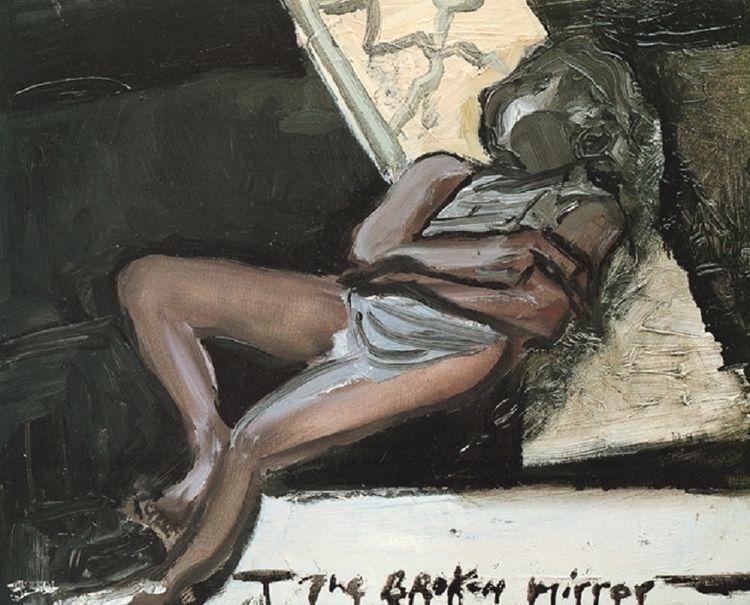 Marlene Dumas - Broken Mirror  - artattackgr | ello
