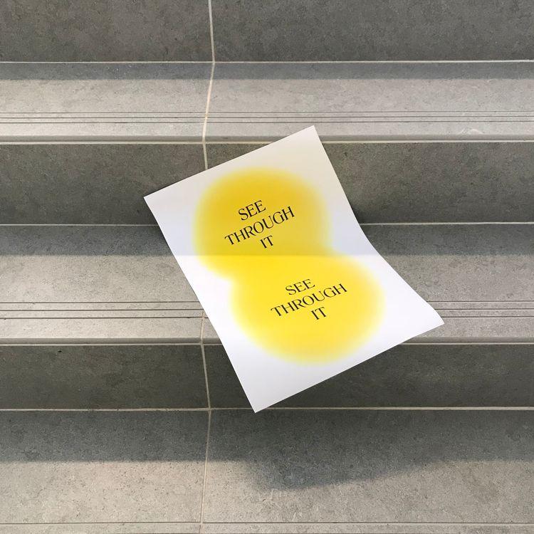 Monday - poster, minimalism - sammearns | ello