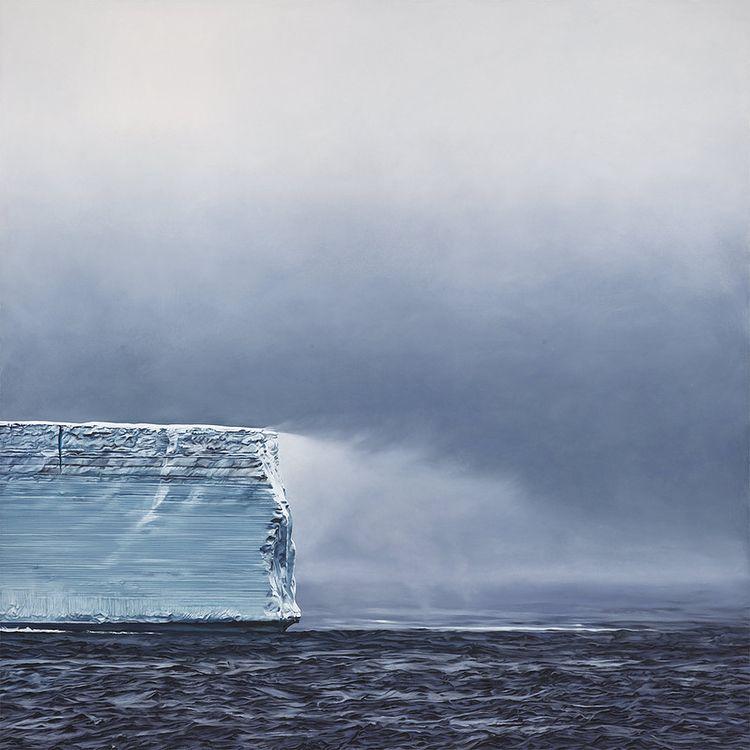 Iceberg Zaria Forman - artwxrk - artwxrk | ello