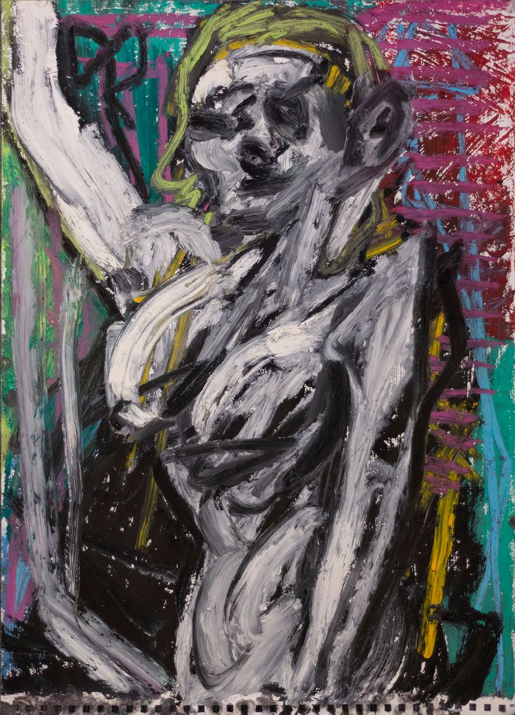 Helen Oil pastel gessoed paper  - chunbumpark | ello