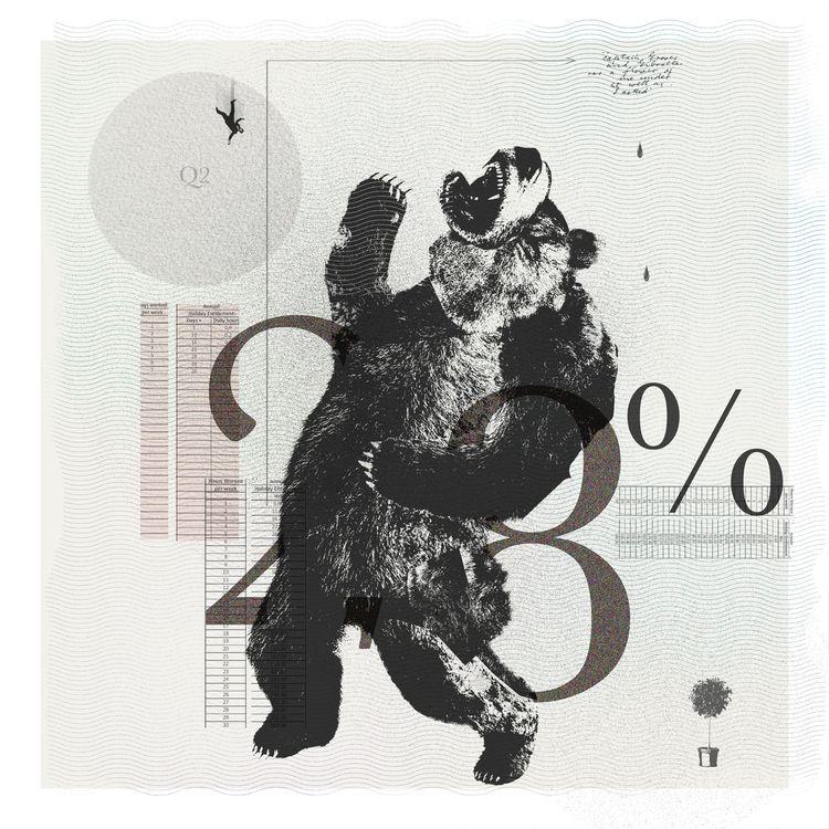 Futile resistance Bear  - art, graphic - markograf | ello