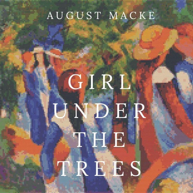 Girl Trees August Macke cross s - theartofstitch | ello