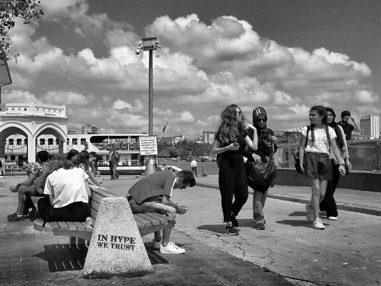 Street - Istanbul Kadıköy - streetphotography - nurcan | ello
