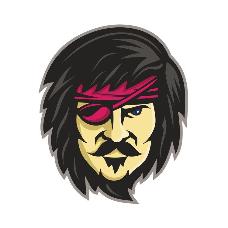 Corsair Eye Patch Mascot - EyePatch - patrimonio | ello