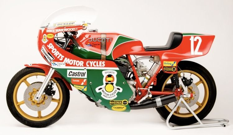 Mike Hailwood replica Ducati Ve - red_wolf | ello