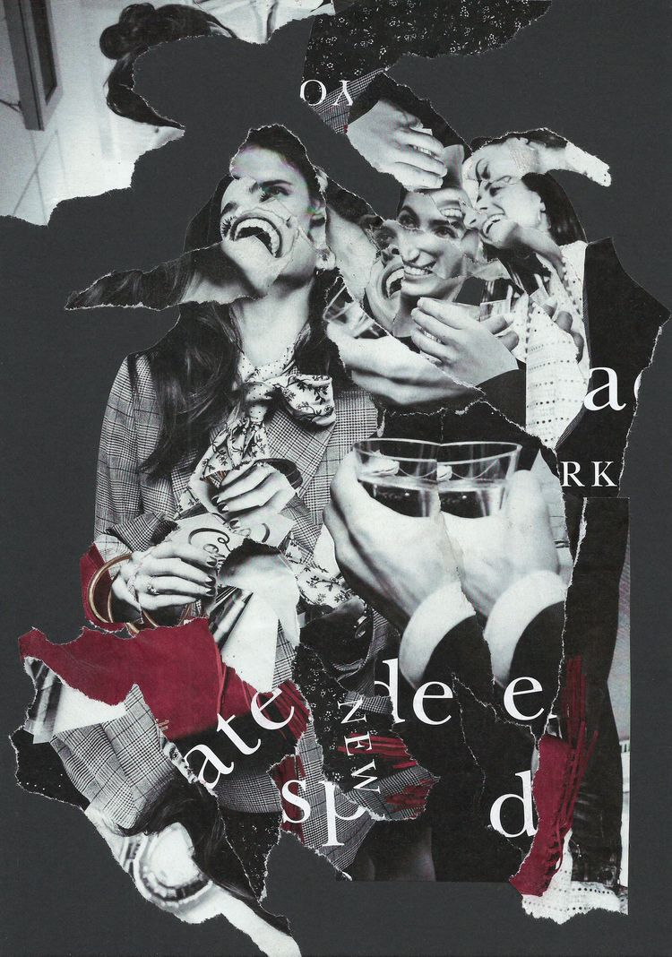 Laughing Women - collage, dada, popart - graemejukes | ello