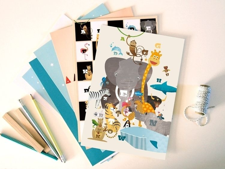 ABC picture nursery animals ape - piakolle | ello