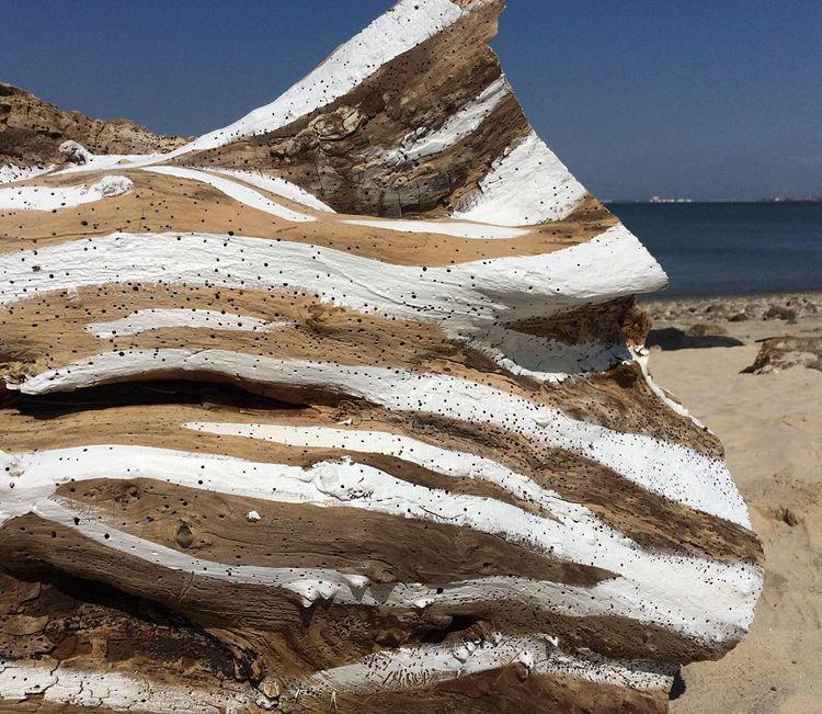 Tide (2018), Acrylic Paint wood - vascomaio | ello