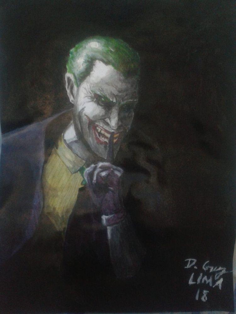 Joker Art Gouache Insta - joker - dcruzlima | ello