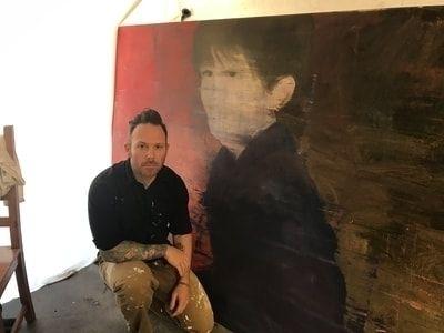 interview painter Adam Cochran - jlynneroberts   ello