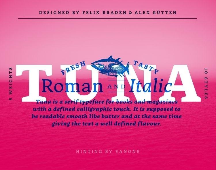 Tuna typeface optimized reading - floodfonts | ello