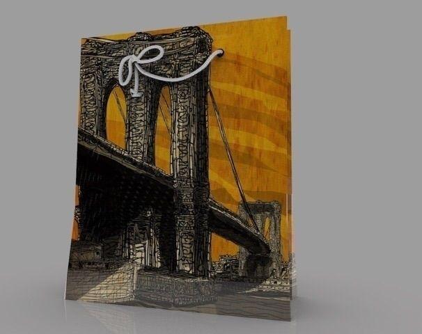 bridge - nyc, brooklyn, pop - mrwonderful12 | ello