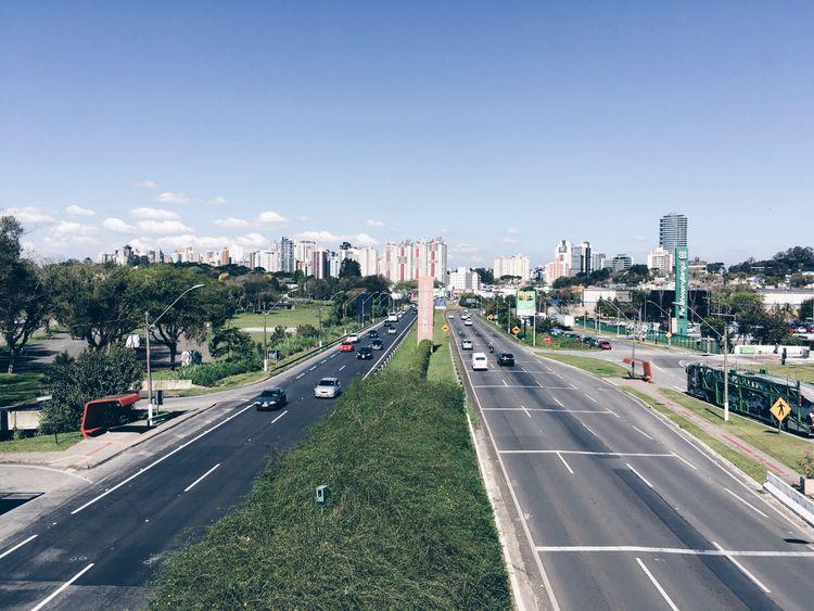 синий - Curitiba, Blue, sky, park - penguinstaste | ello