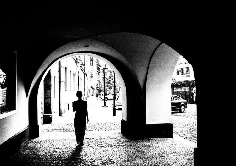 figure, blackandwhite, architecture - goragorskiy | ello