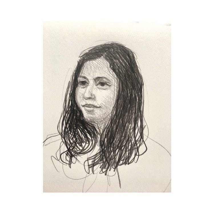 portraiture, art, sketch, graphite - yuliavirko   ello