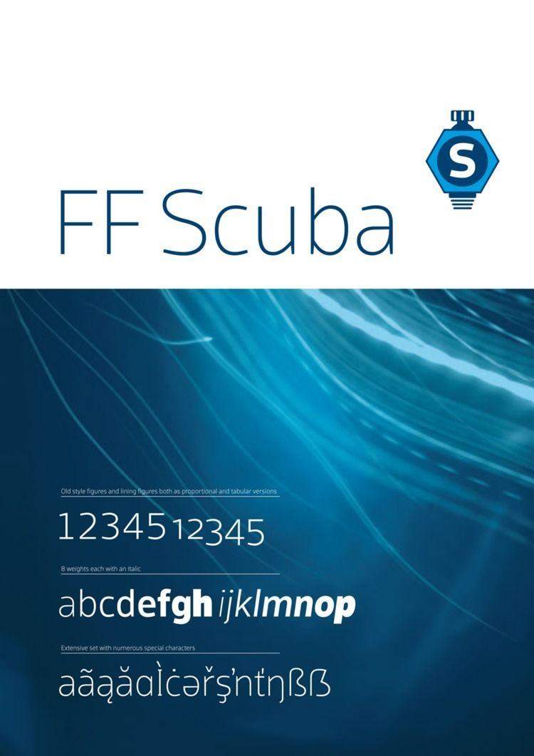 FF Scuba family spans complete  - floodfonts | ello