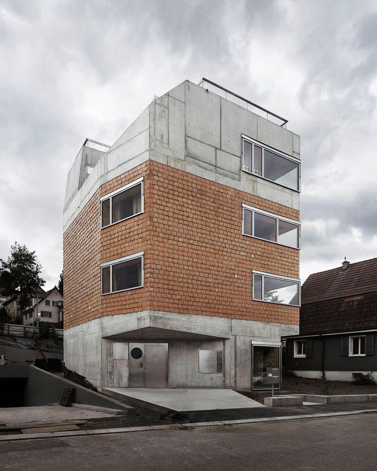 house Zurich Andreas Fuhrimann  - dailydesigner | ello
