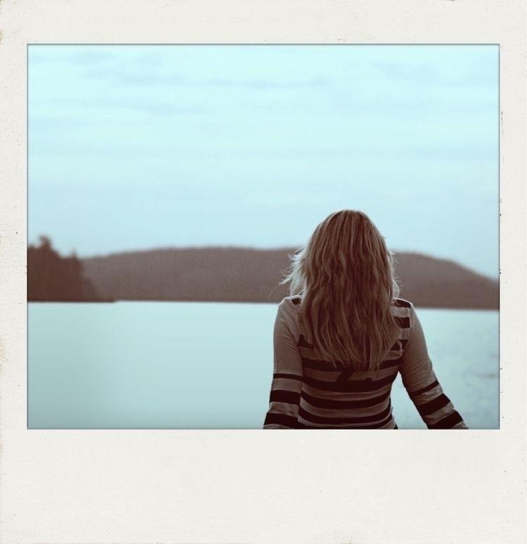 love lakes. hikes, cool Fall da - ellephoto | ello